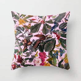 The Butterfly's Dream Throw Pillow