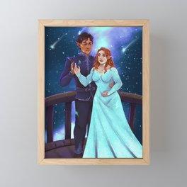 Starfall Framed Mini Art Print