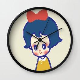 a little girl  Wall Clock