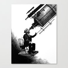 Who's Looking at Who? Canvas Print