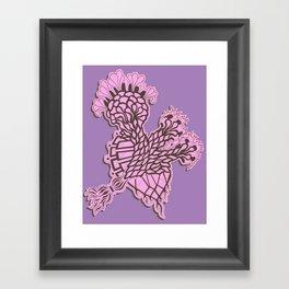 enzyme Framed Art Print
