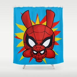 Spider-Ham Face Shower Curtain