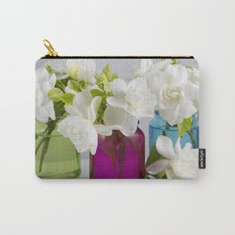 Gardenias in a Jar Carry-All Pouch