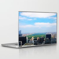 central park Laptop & iPad Skins featuring Central Park by NaturallyJess
