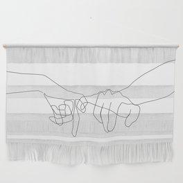 Pinky Swear Wall Hanging