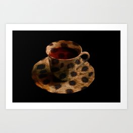 CHEE-TEA Art Print