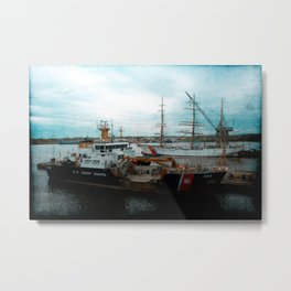 Yesterday And Today Metal Print