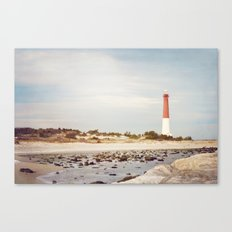 Barnegat Lighthouse Long Beach Island New Jersey Shore, Old Barney Light house LBI Canvas Print