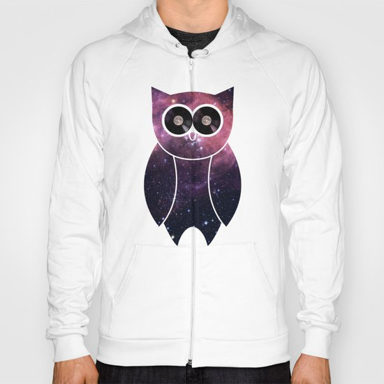 Owl Night Long Hoody