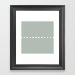 Dots Ash Framed Art Print