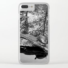Reflections in the Slough Clear iPhone Case