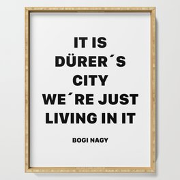 DÜRER´S CITY Serving Tray