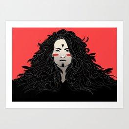Waya Art Print