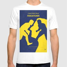 o788 My Foxcatcher minimal movie poster Mens Fitted Tee MEDIUM White