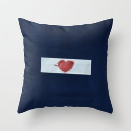 Red Valentine Throw Pillow