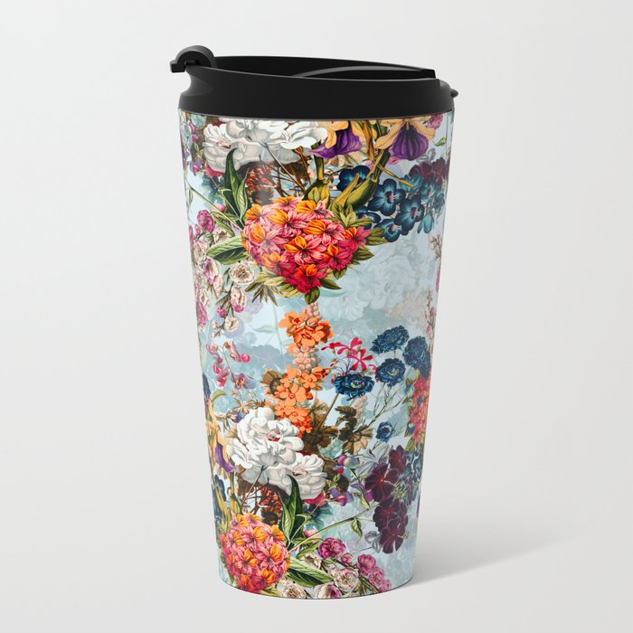 Summer Botanical Garden VIII Metal Travel Mug