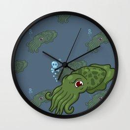 Cuttlefish - Cthulu Edition Wall Clock