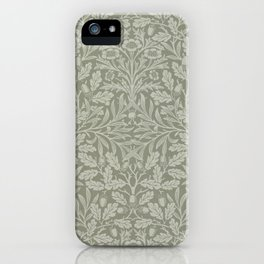 """William Morris """"Acorn"""" 6. iPhone Case"""