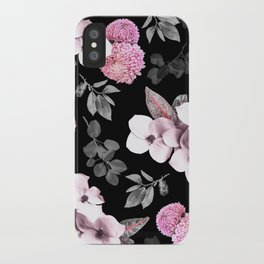 Night bloom - pink blush iPhone Case