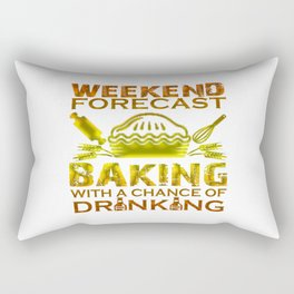 BAKING WEEKEND Rectangular Pillow