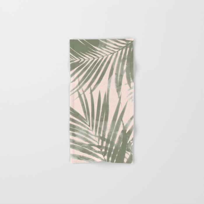 Delicate Jungle on Blush Hand & Bath Towel