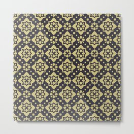 Abstract geometric Pattern 89 Metal Print