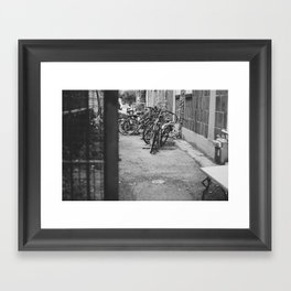 Remnants of Summer Framed Art Print