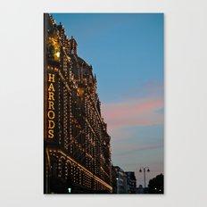 Harrod's Department Store London Canvas Print