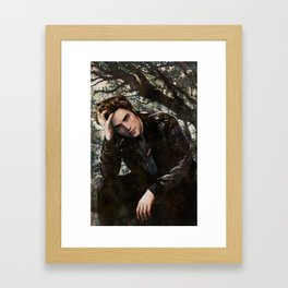 Robert Pattinson FAME comic book cover - Twilight Framed Art Print