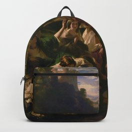 "1853 Classical Masterpiece ""Florinda"" by Franz Xaver Winterhalter Backpack"