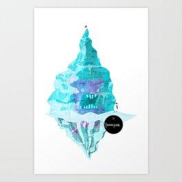 Frozen Fun Art Print
