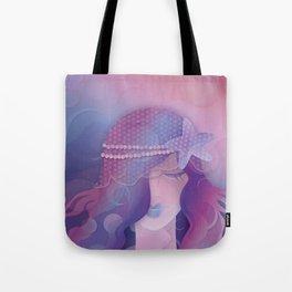 Mermaid IV - Pink Violet Princess Tote Bag