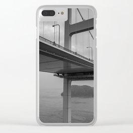 Long Dark Bridge Clear iPhone Case
