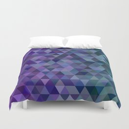 Triangle tiles Duvet Cover
