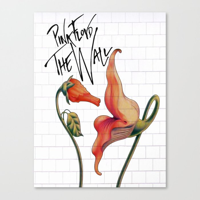 Pink Floyd The Wall Canvas Print by dreambeyondart | Society6