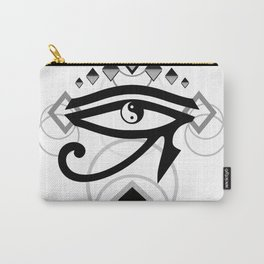 Eye Of Horus (Yin Yang Crest) - 2 Carry-All Pouch