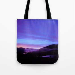 Valley Sunset Tote Bag