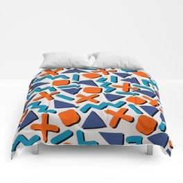 90s Retro Memphis Pattern Comforters