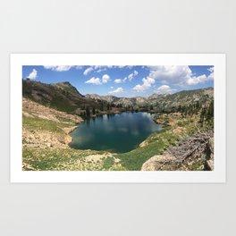 Cecret Lake Art Print