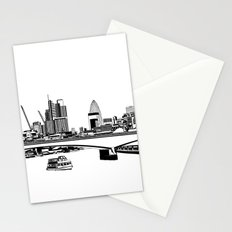 London Black and White Stationery Cards