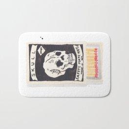 Skull Matchbox Bath Mat