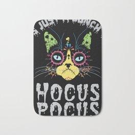 Hocus Pocus Cat - Funny Halloween Cat Bath Mat