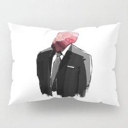 Char Siu Head (roast pork in suit) Pillow Sham