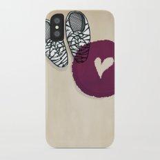 Zebra shoes Slim Case iPhone X