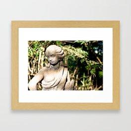 statue (one) Framed Art Print
