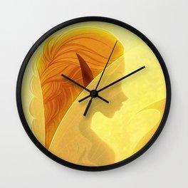 Fairy Wings Wall Clock