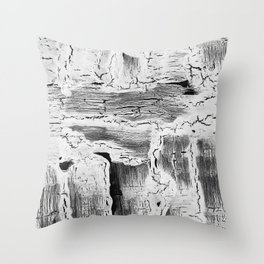 Abstract Artwork Greyscale #2 Throw Pillow