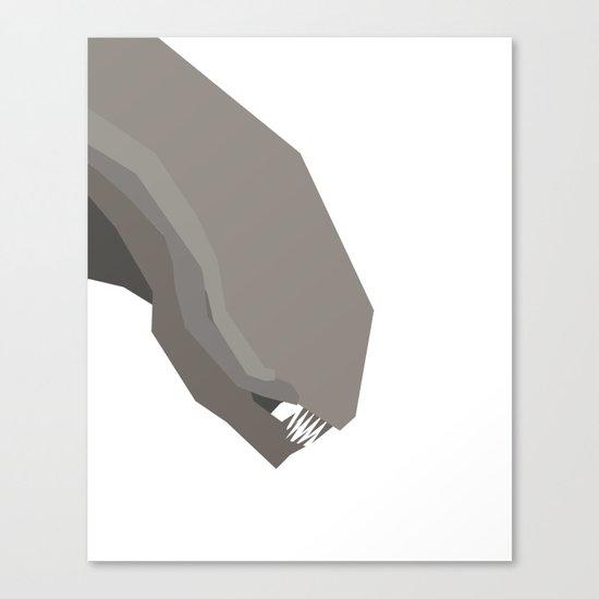 Basic Paper - Alien Canvas Print