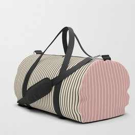 Color Block Lines V Duffle Bag
