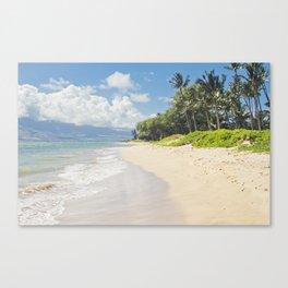 Kawililipoa Beach Kihei Maui Hawaii Canvas Print